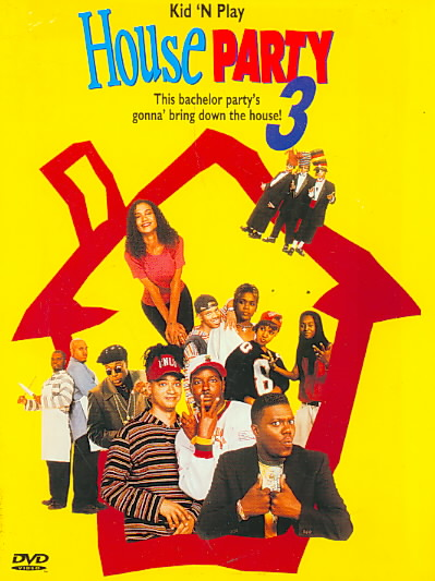 HOUSE PARTY 3 BY KID 'N PLAY (DVD)